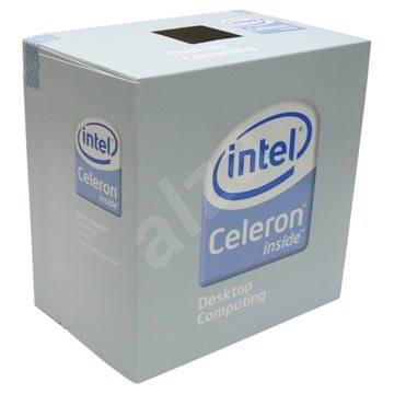 celeron 420_Intel Celeron 420 - 1,60GHz, 800MHz FSB, 512KB cache, socket 775, EM64T, BOX (Conroe-L ...