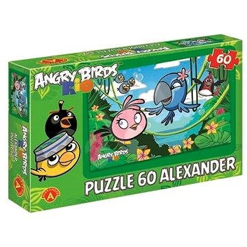 angry birds rio eine s e dschungel 60 st ck puzzle. Black Bedroom Furniture Sets. Home Design Ideas