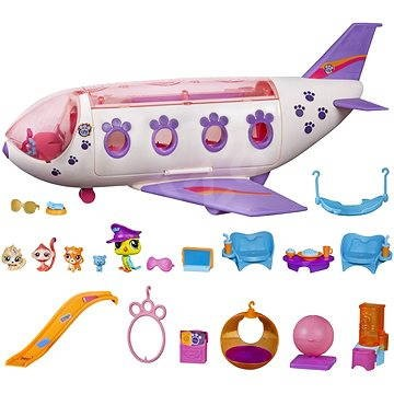 Littlest Pet Shop Airplane Play Set Toys