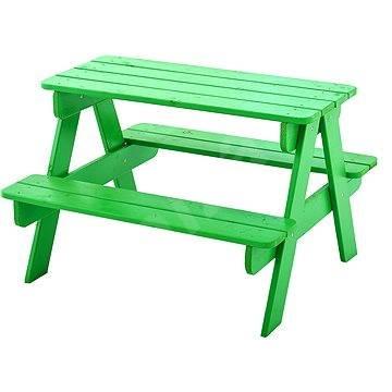 kleiner tisch mit zwei b nken pic nic kinderm bel spielzeug. Black Bedroom Furniture Sets. Home Design Ideas
