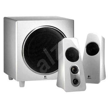 logitech speaker system z523 wei lautsprecher. Black Bedroom Furniture Sets. Home Design Ideas