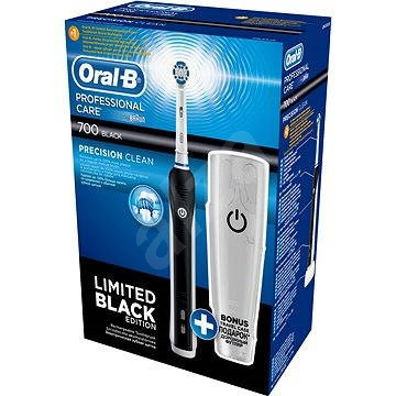 oral b professional care 700 black travel case electric toothbrush. Black Bedroom Furniture Sets. Home Design Ideas