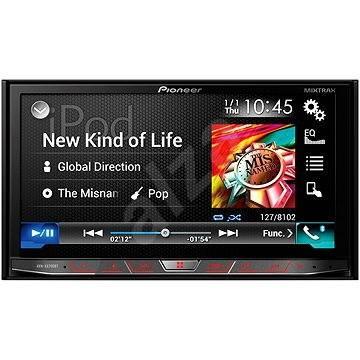 pioneer avh black x8700bt gps car navigation. Black Bedroom Furniture Sets. Home Design Ideas
