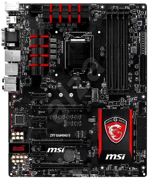 MSI Z97 GAMING 5 - Motherboard | Alzashop.com