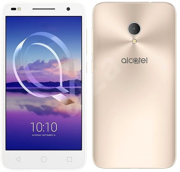 Alcatel U5 Hd Premium 5047u Metallic Gold Mobile Phone
