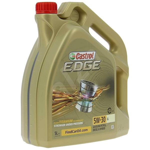 castrol edge 5w 30 ll titanium fst 5l olej. Black Bedroom Furniture Sets. Home Design Ideas