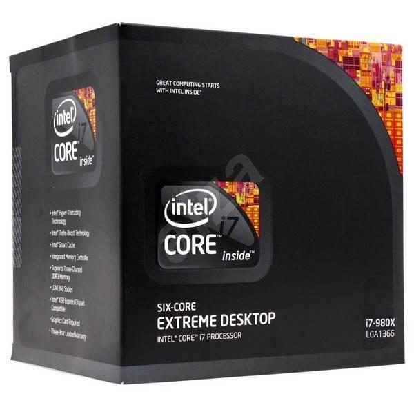 INTEL Core I7 980 Extreme Six Core