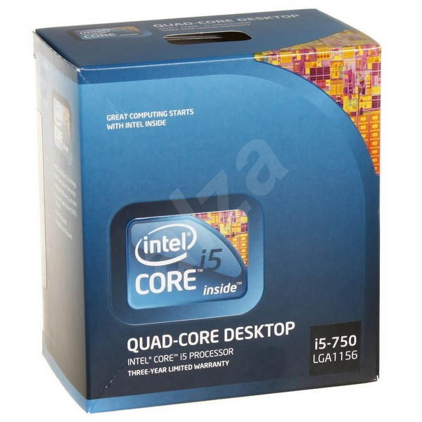 intel core i5 750 quad core procesor. Black Bedroom Furniture Sets. Home Design Ideas