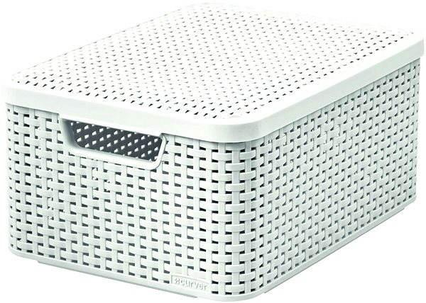 curver rattan style2 aufbewahrungsbeh lter mit deckel m aufbewahrungsbox. Black Bedroom Furniture Sets. Home Design Ideas