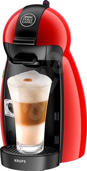 krups nescaf dolce gusto kp1006ce piccolo red capsule coffee machine. Black Bedroom Furniture Sets. Home Design Ideas