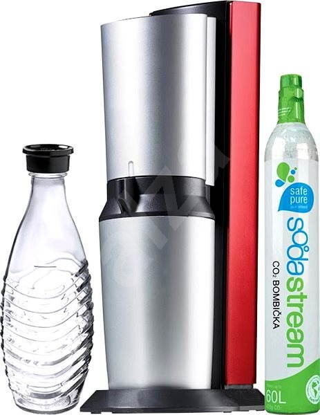 sodastream crystal red titan red soda maker. Black Bedroom Furniture Sets. Home Design Ideas