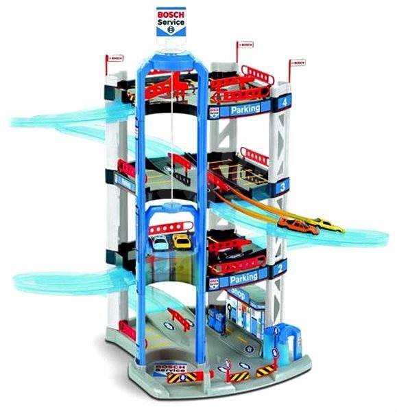 Klein bosch garage 4 floors play set for Garage bosch lambersart