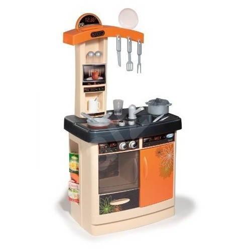 Bon appetit kitchen orange children 39 s kitchen set for Kitchen set orange