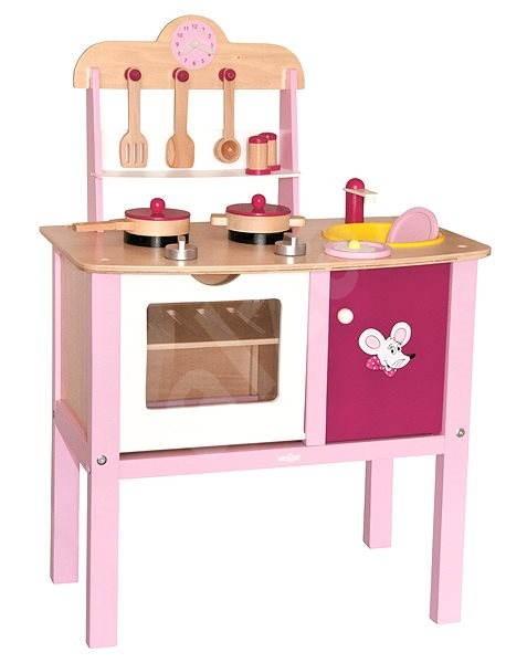 A small kitchen trendy children 39 s kitchen set for Small childrens kitchen set