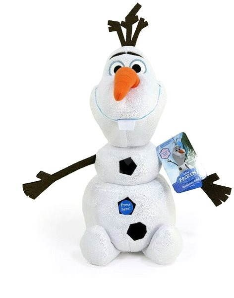 ice kingdom walking and talking olaf figure. Black Bedroom Furniture Sets. Home Design Ideas