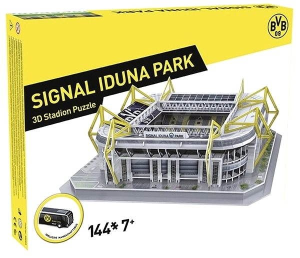 3d puzzle nanostad germany signal iduna park football stadium puzzle. Black Bedroom Furniture Sets. Home Design Ideas