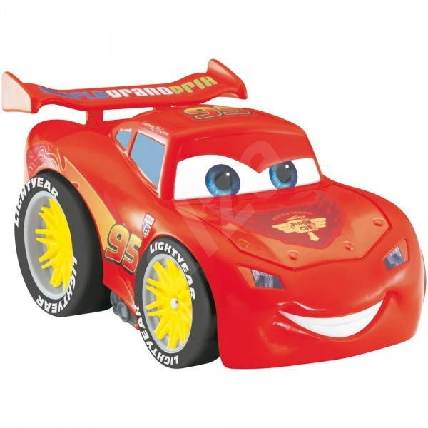 Fisher price zat es a je cars mcqueen toy vehicle for Fisher price motorized cars