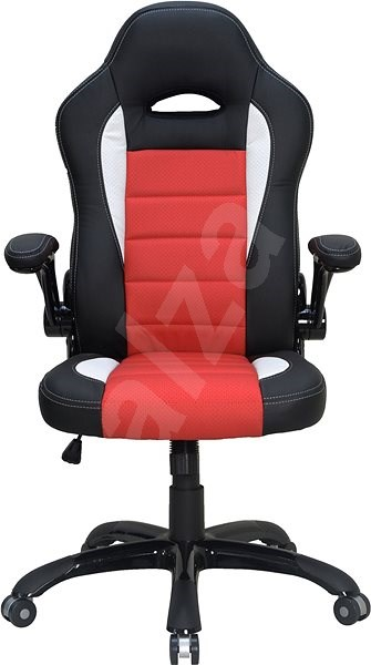 Hawaii montreal racing design black red white office for Chaise design montreal