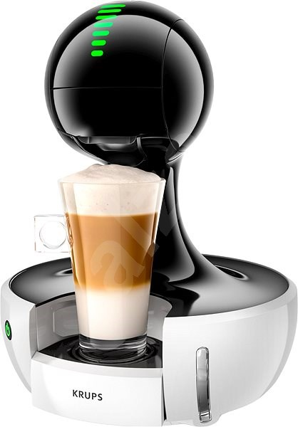 krups nescafe dolce gusto kp3501 white drop capsule coffee machine. Black Bedroom Furniture Sets. Home Design Ideas