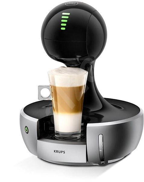 krups nescafe dolce gusto drop silver kp350b capsule coffee machine. Black Bedroom Furniture Sets. Home Design Ideas
