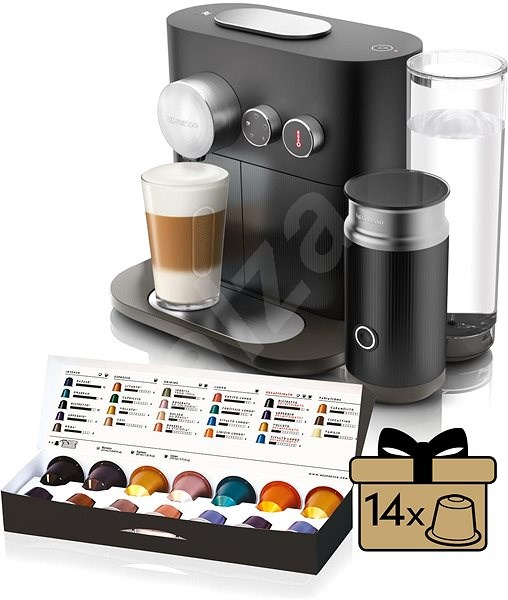 nespresso krups expert xn601810 capsule coffee machine. Black Bedroom Furniture Sets. Home Design Ideas