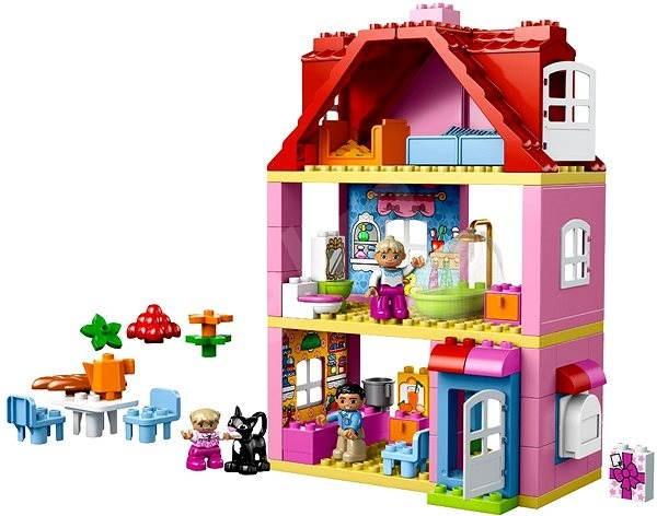 lego duplo 10505 lego ville domek na hran stavebnice. Black Bedroom Furniture Sets. Home Design Ideas