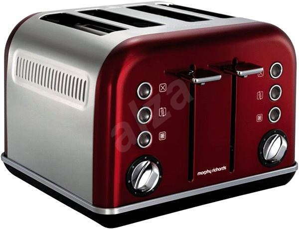 morphy richards red 4s 242020 toaster. Black Bedroom Furniture Sets. Home Design Ideas
