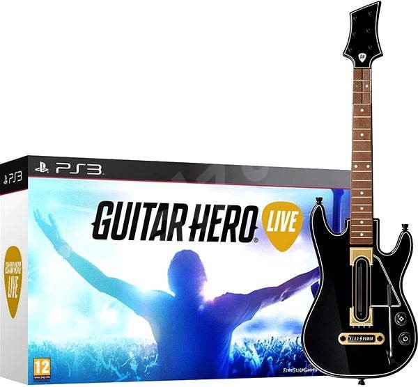 ps3 guitar hero live console game. Black Bedroom Furniture Sets. Home Design Ideas
