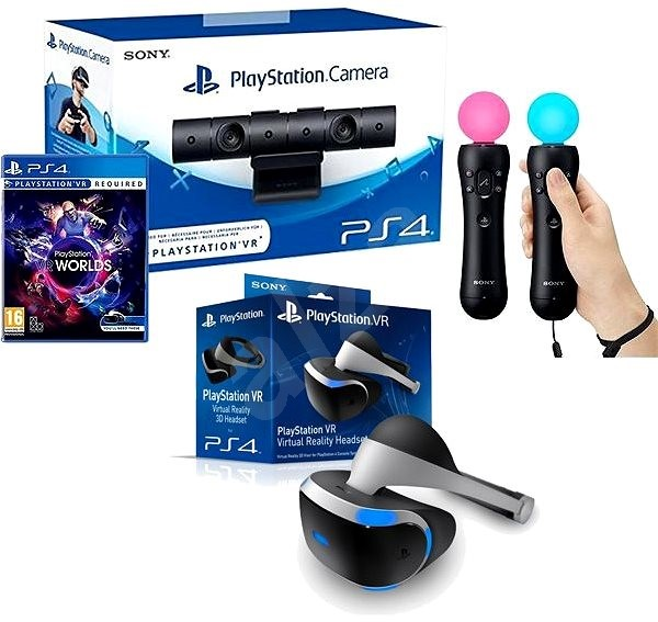 playstation vr f r ps4 vr worlds spiel ps4 kamera ps. Black Bedroom Furniture Sets. Home Design Ideas