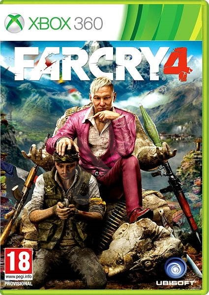 far cry 4 xbox 360 hra pro konzoli. Black Bedroom Furniture Sets. Home Design Ideas