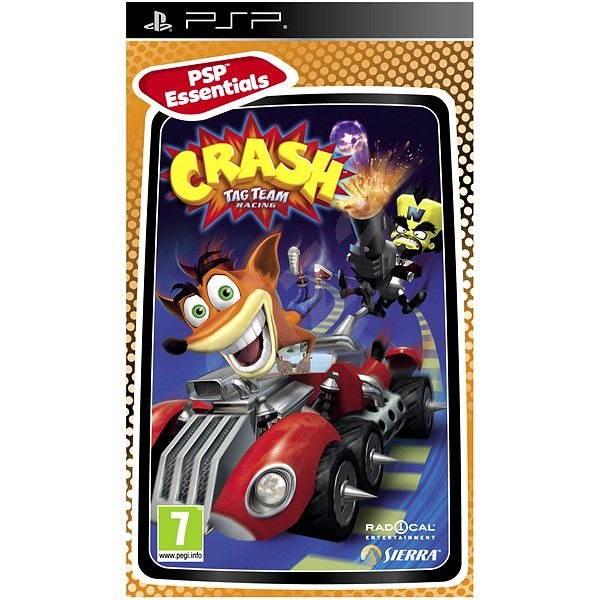 PSP - Crash Tag Team Racing Essentials - Console Game ...