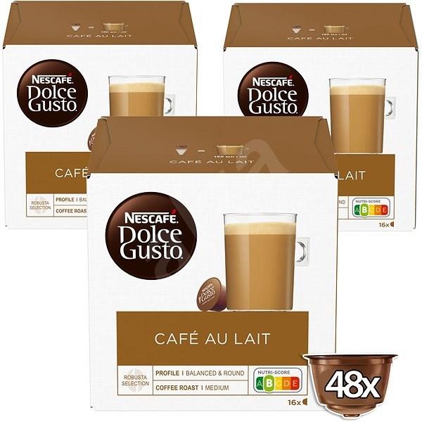 nescaf dolce gusto caf au lait 16 st ck x 3 kaffeekapseln. Black Bedroom Furniture Sets. Home Design Ideas