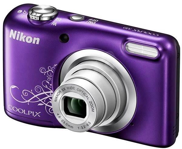 nikon coolpix a10 purple digital camera. Black Bedroom Furniture Sets. Home Design Ideas