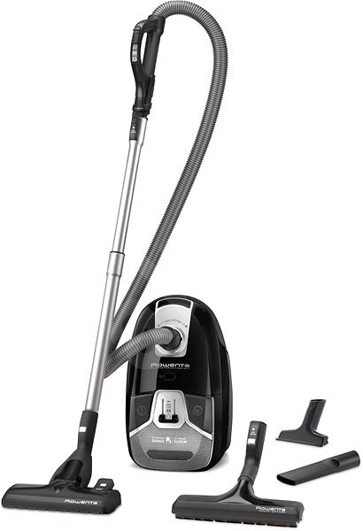rowenta silence force compact 4a ro6355ea bagged vacuum cleaner. Black Bedroom Furniture Sets. Home Design Ideas