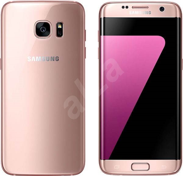 samsung galaxy s7 edge pink mobile phone. Black Bedroom Furniture Sets. Home Design Ideas