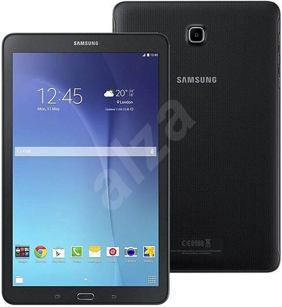 samsung galaxy tab e 9 6 wifi black sm t560 tablet. Black Bedroom Furniture Sets. Home Design Ideas