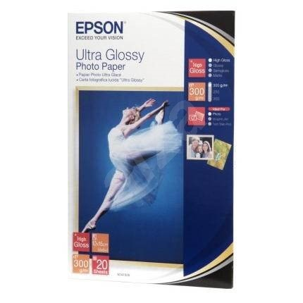 Epson Ultra Glossy Photo 10x15cm 20 Sheets Photo Paper
