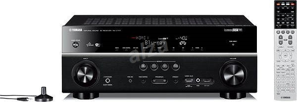 Yamaha rx v777 black av receiver for Yamaha receiver customer support phone number
