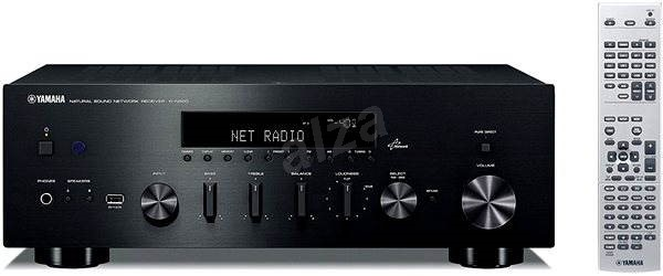 Yamaha r n500 black stereo receiver for Yamaha multi zone receiver