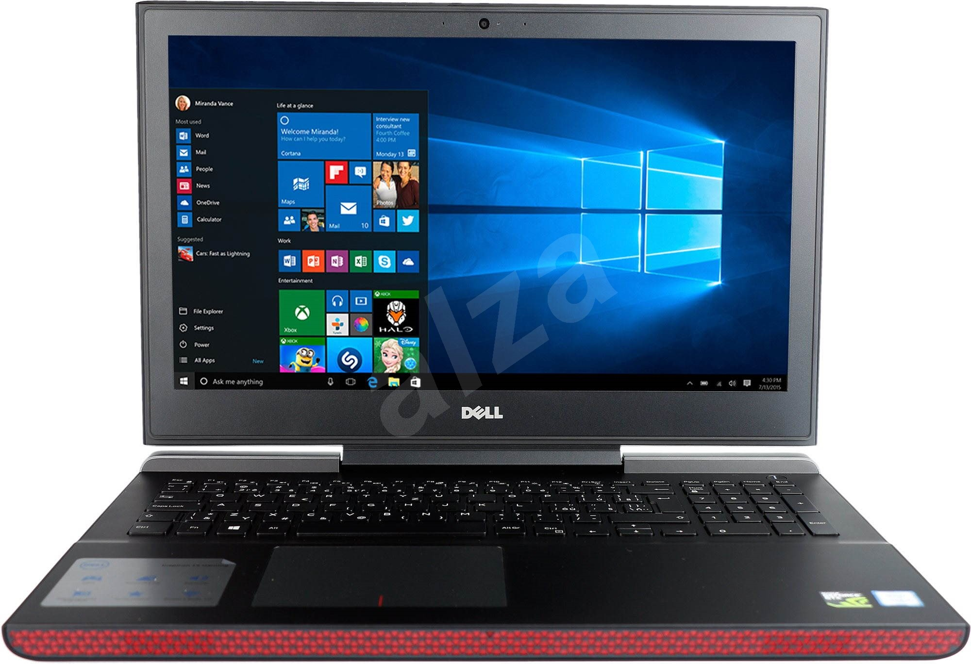 dell inspiron 15 7000 black laptop. Black Bedroom Furniture Sets. Home Design Ideas