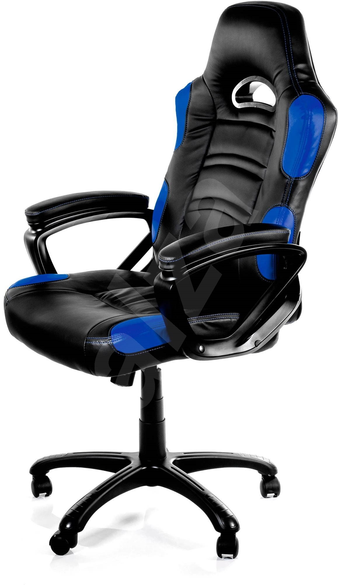 Arozzi enzo blue gaming chair for Chaise de gamer
