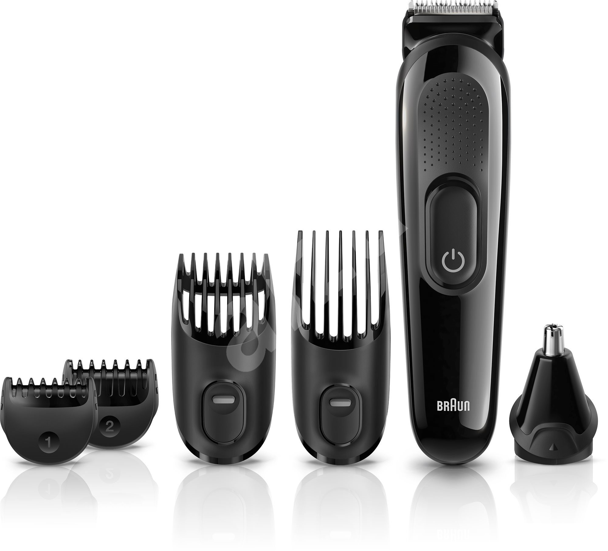 braun mgk3020 multi grooming 6 in 1 beard and hair trimming kit hair and beard trimmer. Black Bedroom Furniture Sets. Home Design Ideas