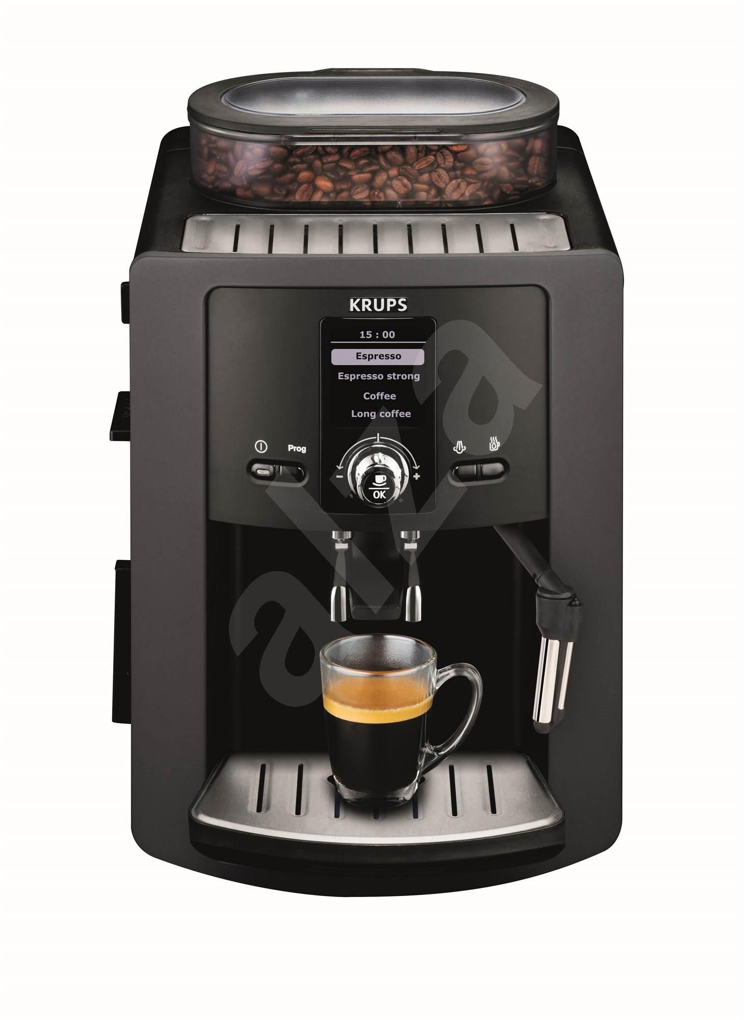 krups automatic ea802b espresseria espresso machine. Black Bedroom Furniture Sets. Home Design Ideas