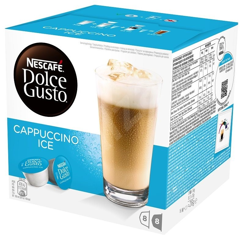 nescaf dolce gusto cappuccino ice 16pcs coffee capsules. Black Bedroom Furniture Sets. Home Design Ideas