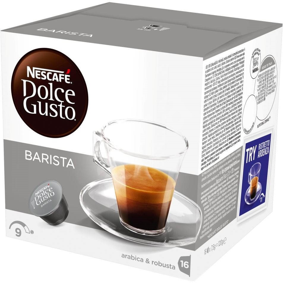 nescaf dolce gusto espresso barista 16 pcs coffee capsules. Black Bedroom Furniture Sets. Home Design Ideas