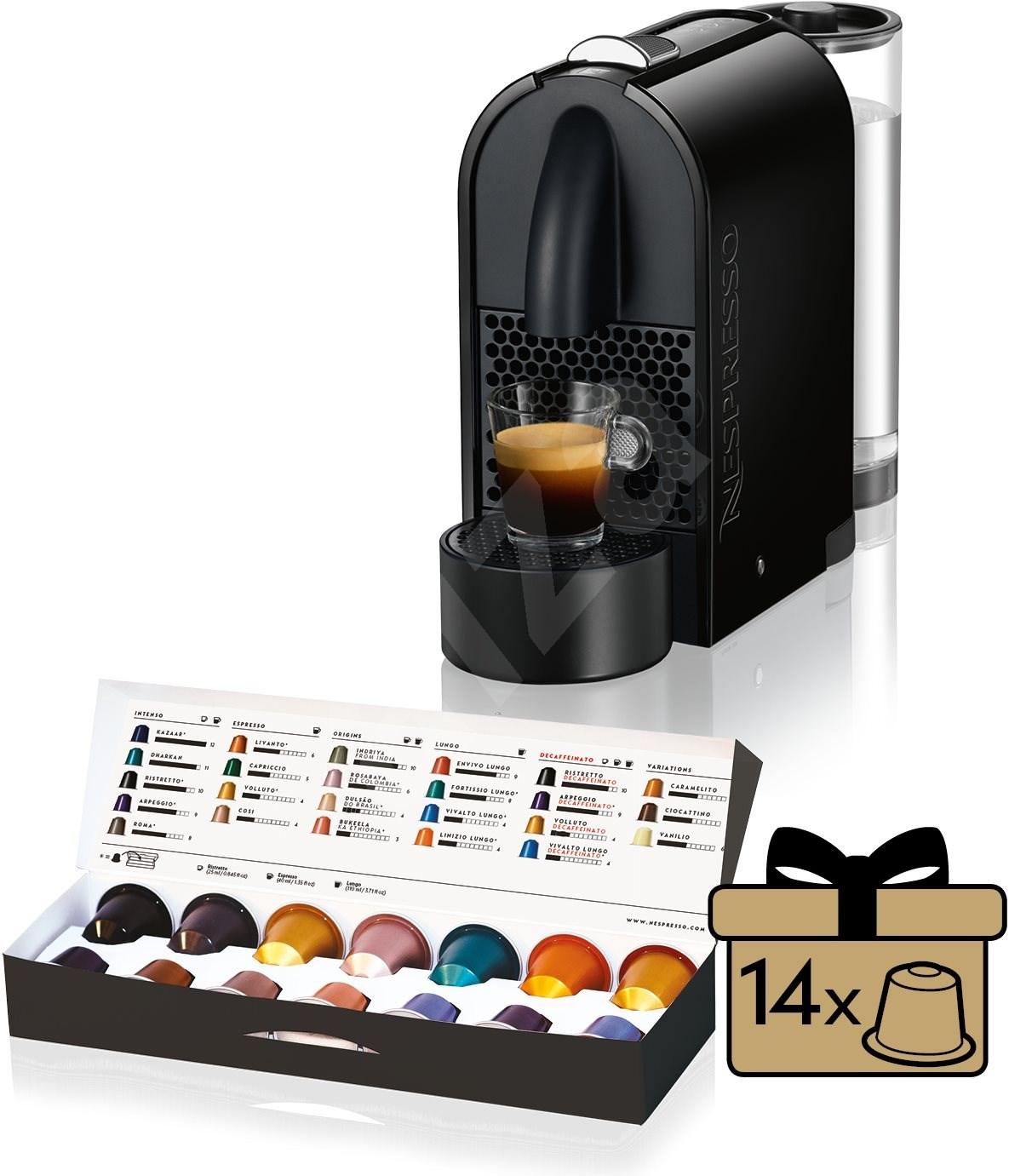 nespresso d longhi u en110 b kapsel kaffeemaschine. Black Bedroom Furniture Sets. Home Design Ideas