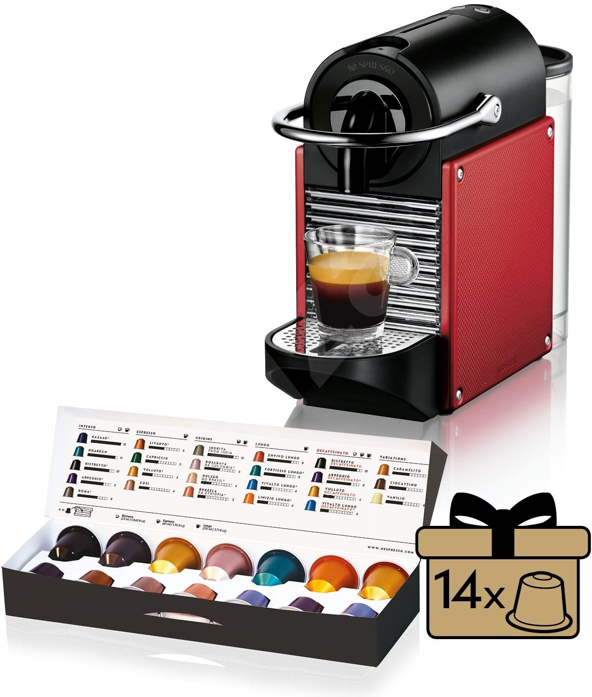 delonghi nespresso pixie en125 r rot kapsel. Black Bedroom Furniture Sets. Home Design Ideas