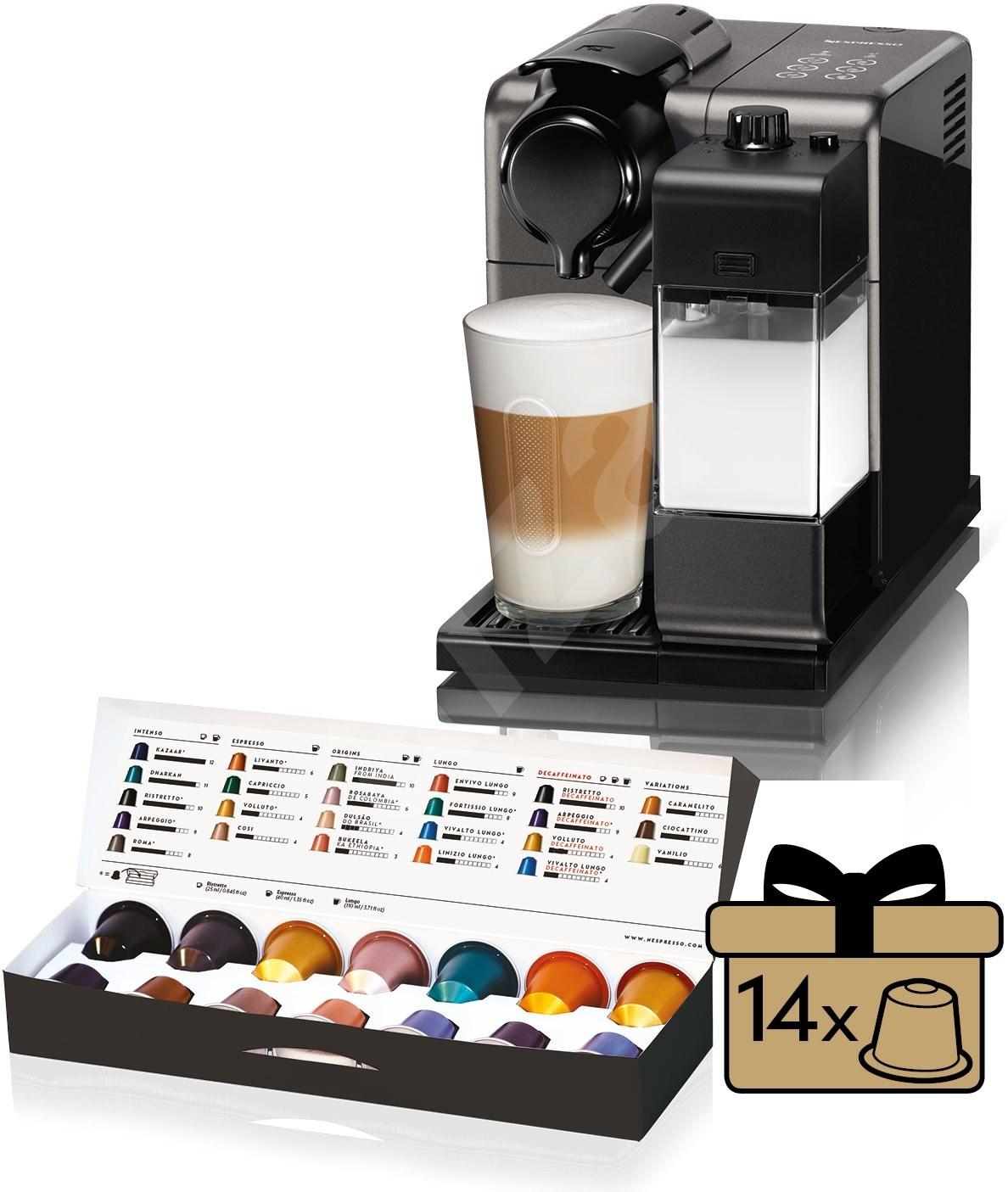 nespresso d longhi lattissima touch en550 b kapsel. Black Bedroom Furniture Sets. Home Design Ideas