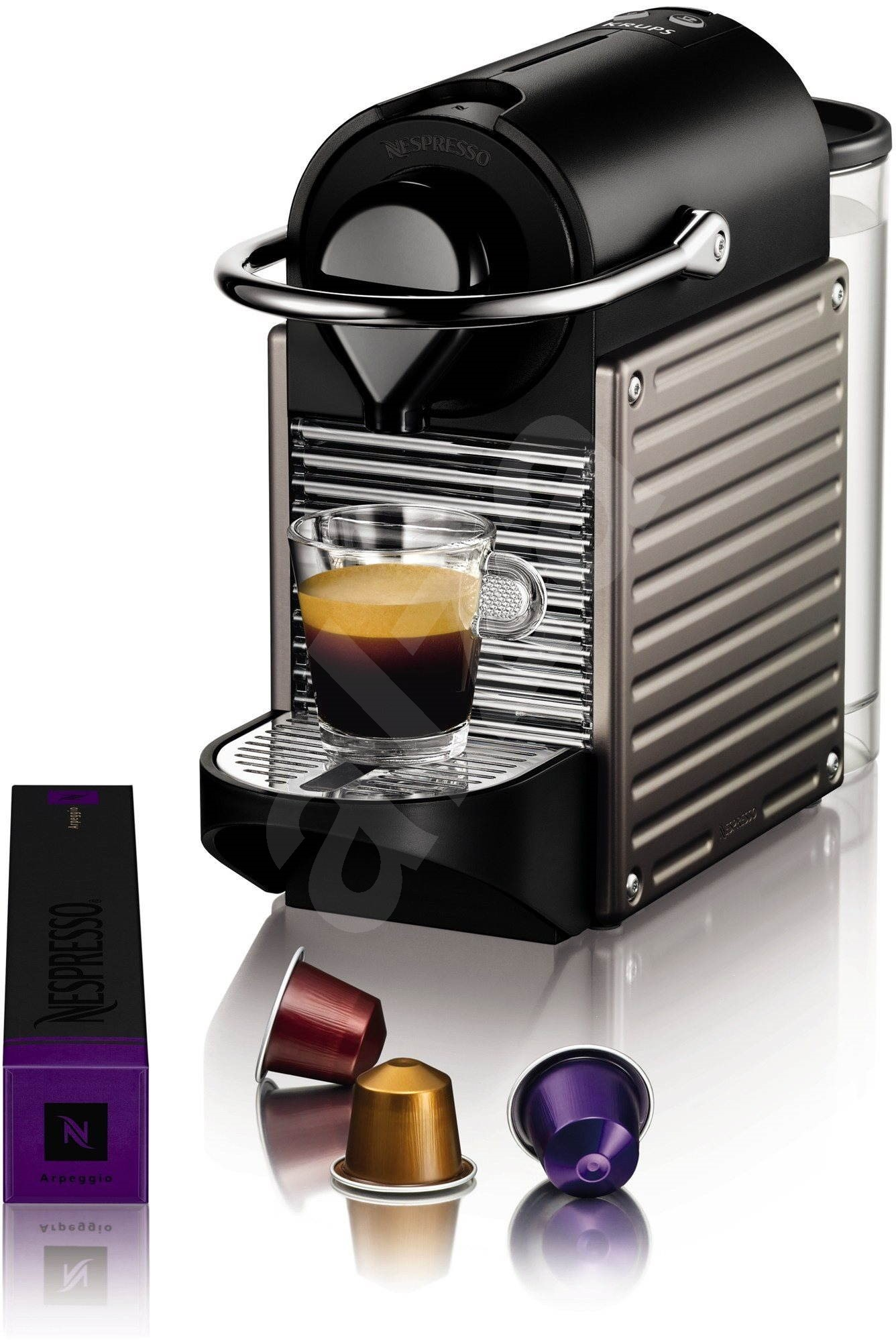 nespresso krups pixie xn301t kapsel kaffeemaschine. Black Bedroom Furniture Sets. Home Design Ideas