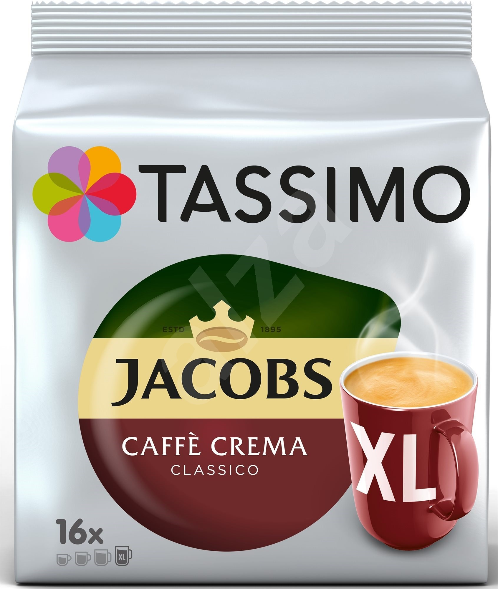 tassimo jacobs kr nung caf crema xl. Black Bedroom Furniture Sets. Home Design Ideas